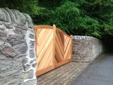 Natural Cedarwood Oiled Gate